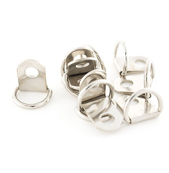 Small Nickel D-Rings
